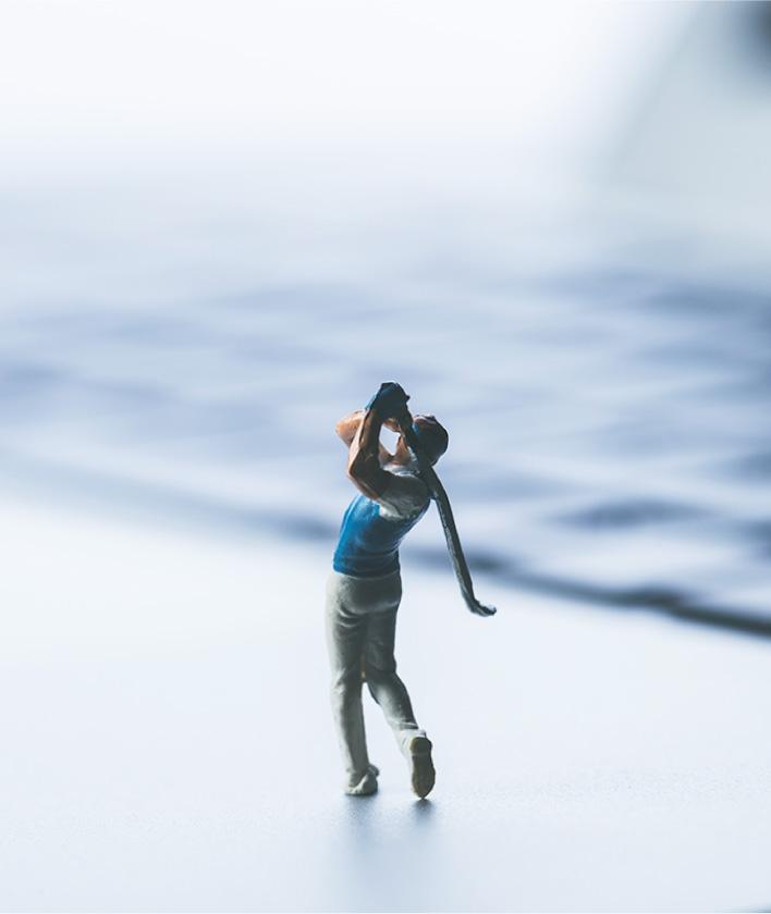 ゴルフ業界への参入
