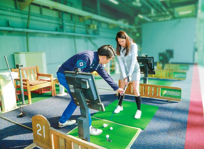 ゴルフスクール運営